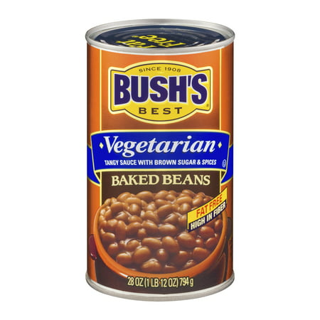 (6 Pack) Bush's Best Vegetarian Baked Beans, 28 Oz