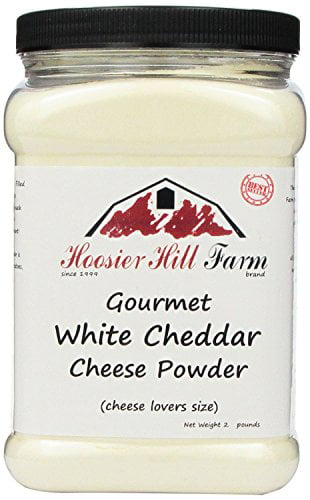 White Cheddar Cheese Powder, cheese lovers Gluten Free 2 lb size by Hoosier Hill Farm
