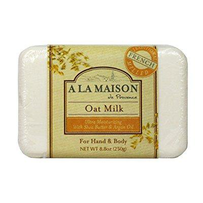 a la maison solid bar soap, oat milk, 8.8 (8.8 Ounce Vacuum Pack)
