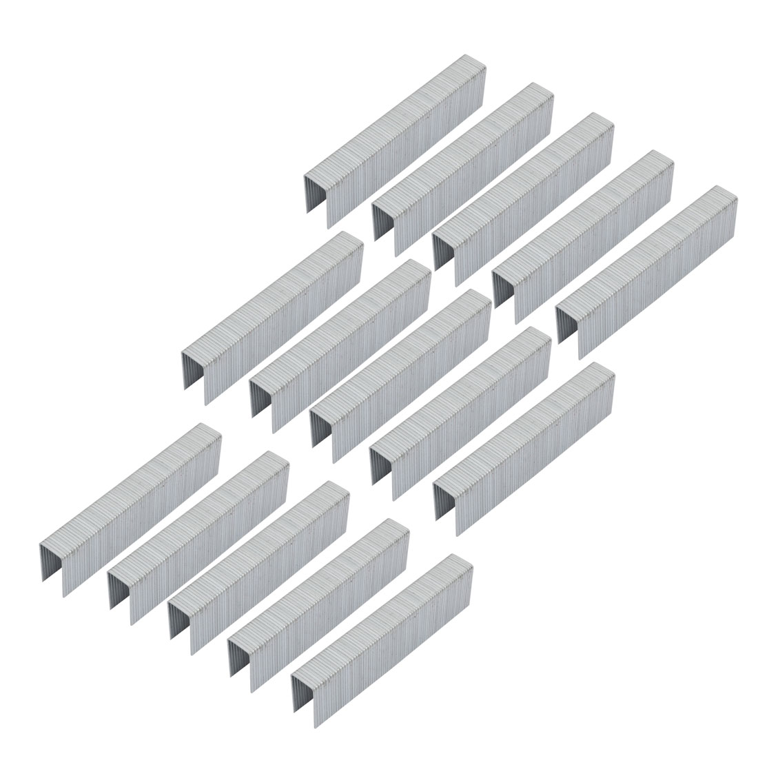 83mmx11mmx20mm Carbon Steel Staple 1500pcs for 1022J Staple Gun by Unique-Bargains