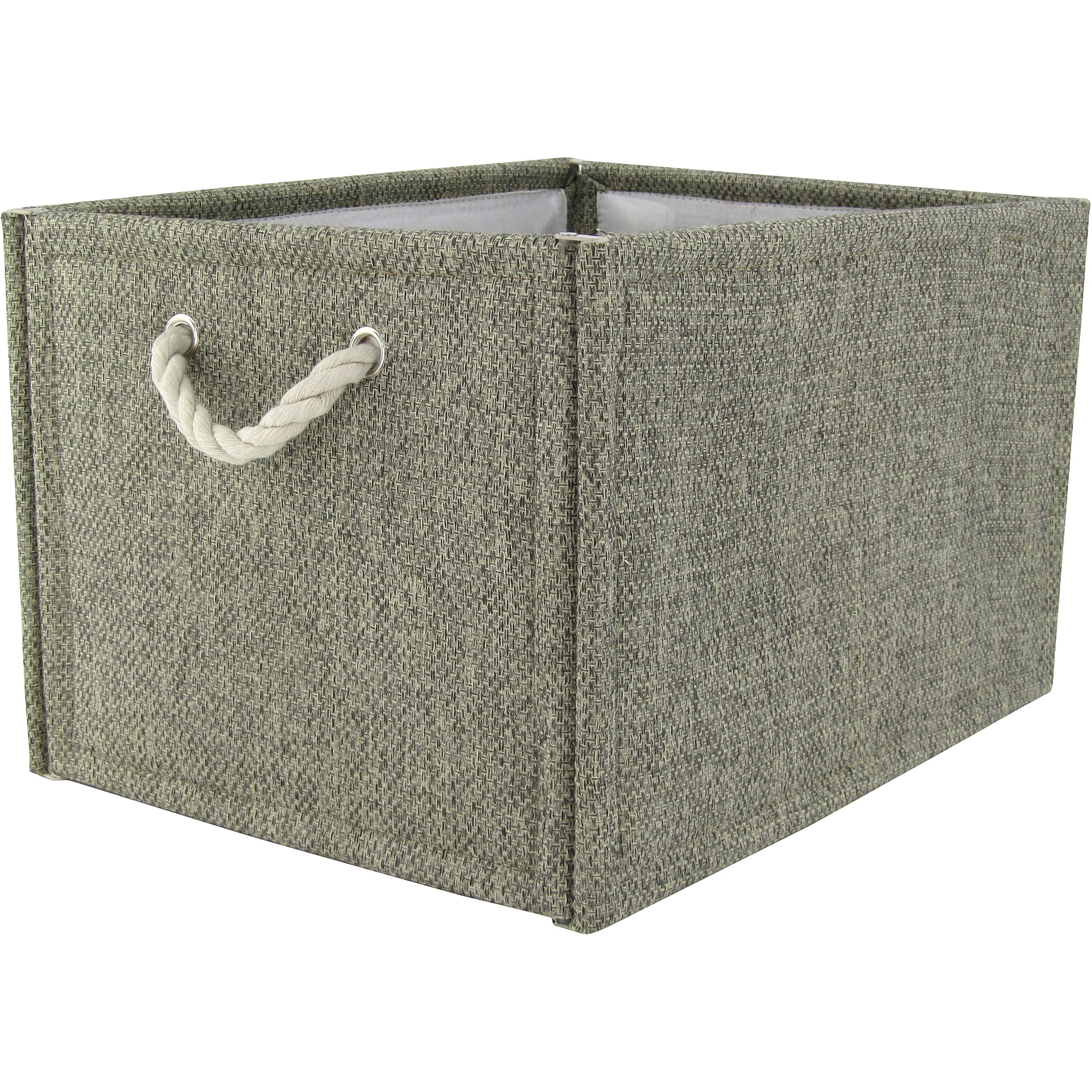 sc 1 st  Walmart & Hometrends Fabric Storage Box Brown - Walmart.com