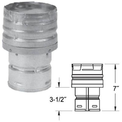 "Appliance Adapter/Increaser - 3"" to 4"""