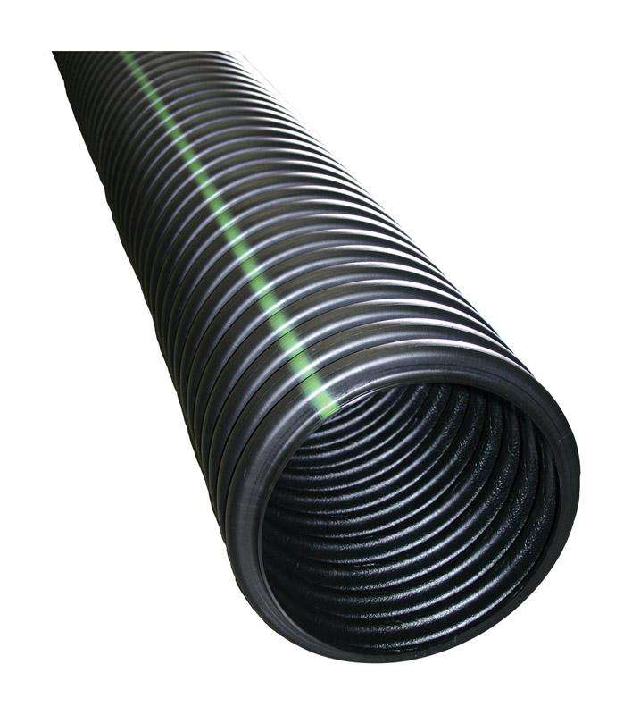 3in.Dia Corrugated Drainage Pipe 100ft.L