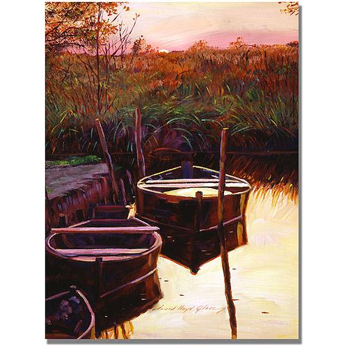 "Trademark Art ""Moment at Sunrise"" Canvas Wall Art by David Lloyd Glover"