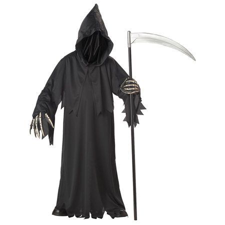 Grim Reaper Halloween Fancy Dress (California Costumes Toys Grim Reaper)