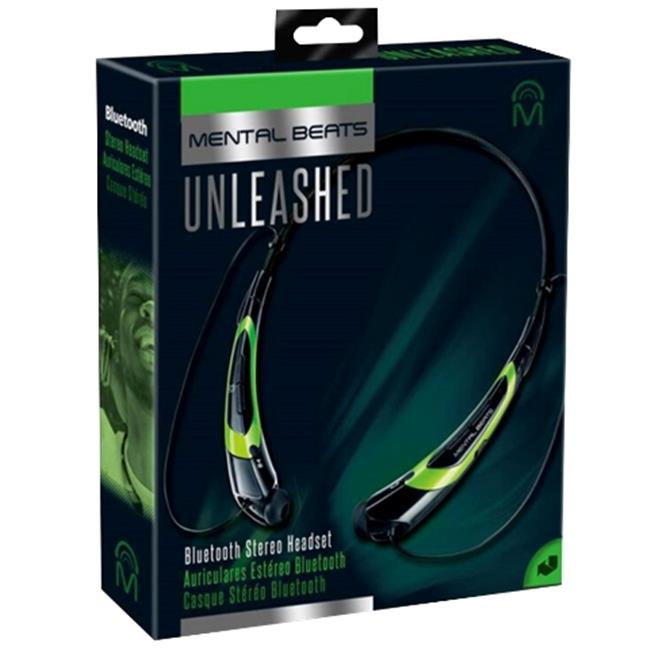 Mental Beats 560 Mental Beats Bluetooth Unleashed Earbuds, Green