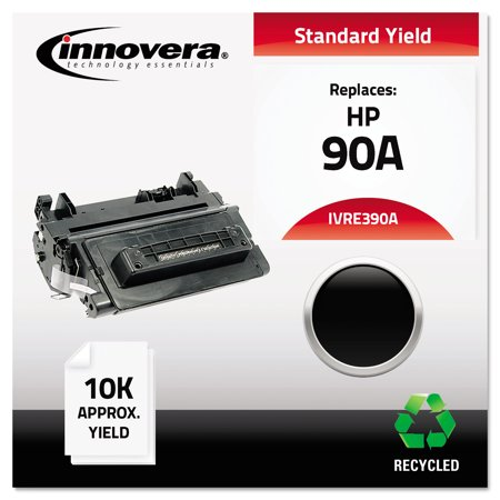 Innovera Remanufactured CE390A (90A) Toner, Black