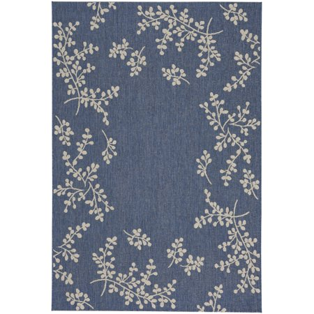Capel - Biltmore Elsinore-Winterberry - Woven Rectangle Rug - Blueberry - 5