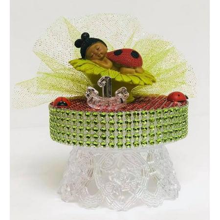 Ladybug Baby Shower or Birthday Ladybug Cake Topper Decoration - Ladybug Birthday