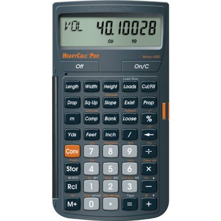 Calculated Industries 4325 Heavy Construction Math Calculator G4632306