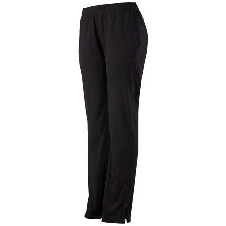 7728 Ladies Solid Brushed Tricot Pant BLACK L