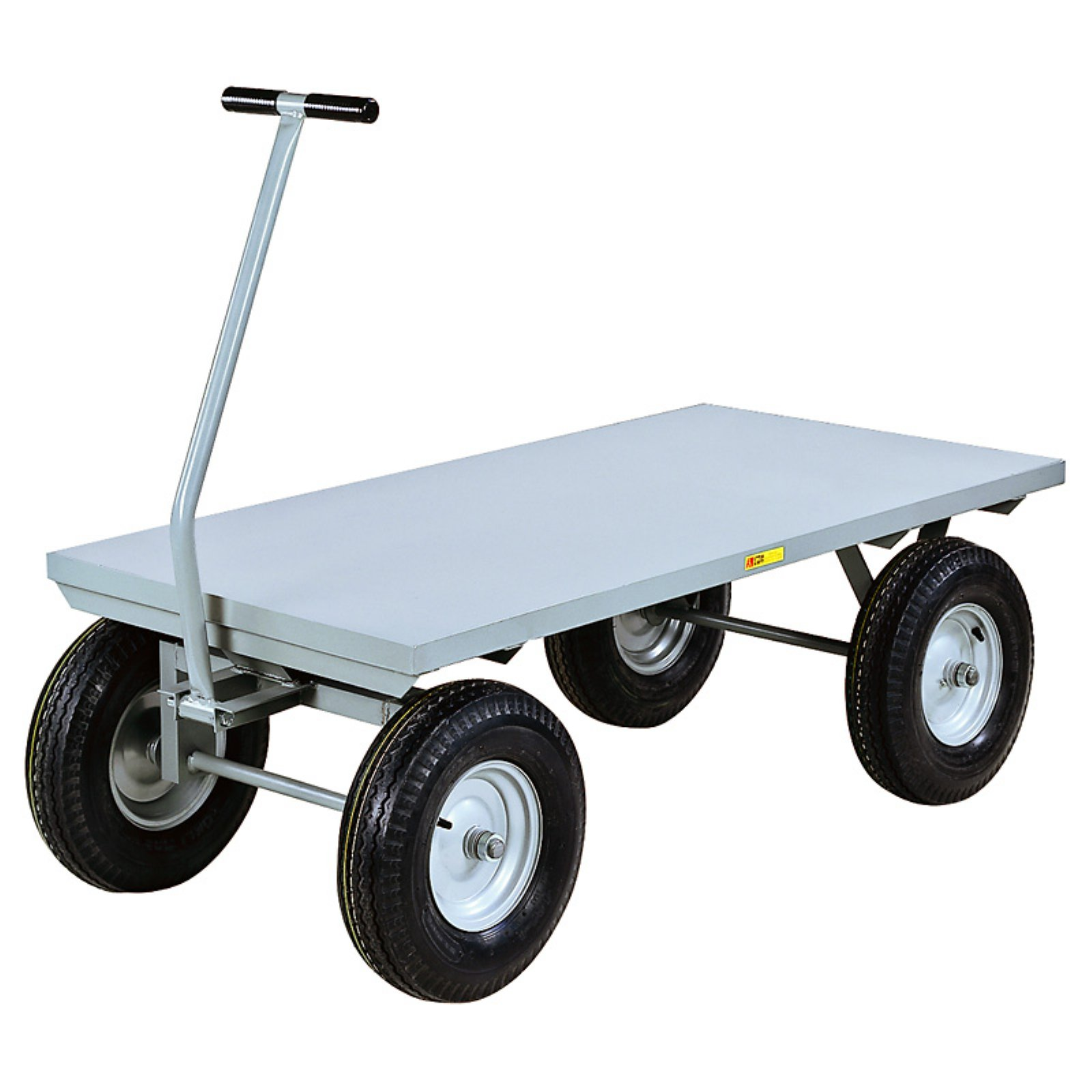 Little Giant Heavy Duty Flush Deck Wagon Cart by Brennan Equipment and Manufacturing Inc