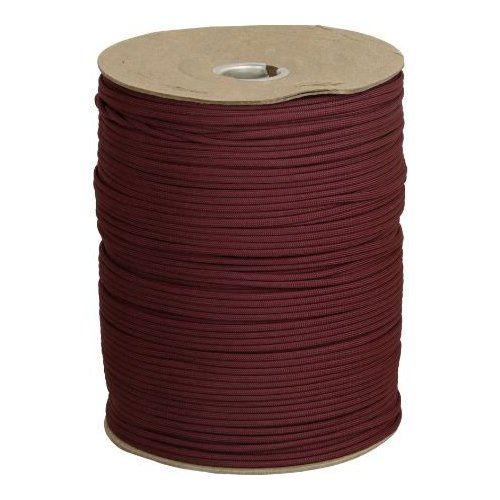 Parachute Cords 013S 1000ft Maroon Parachute Cord Multi-Colored