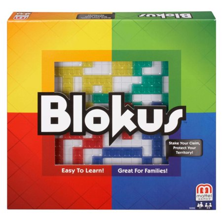 Mattel Blokus Family Fun Game for 2-4 Players Ages - Children's Games For Halloween Party