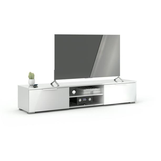 Tvilum Match 2 Drawer 2 Shelf TV Stand, White