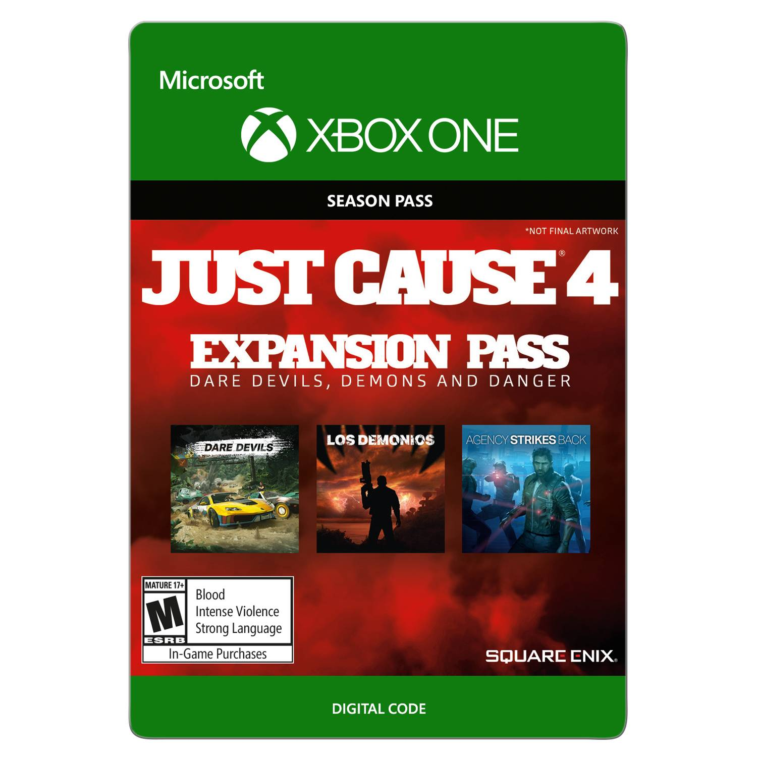 Just Cause 4: Season Pass, Square Enix, Xbox One, [Digital Download]