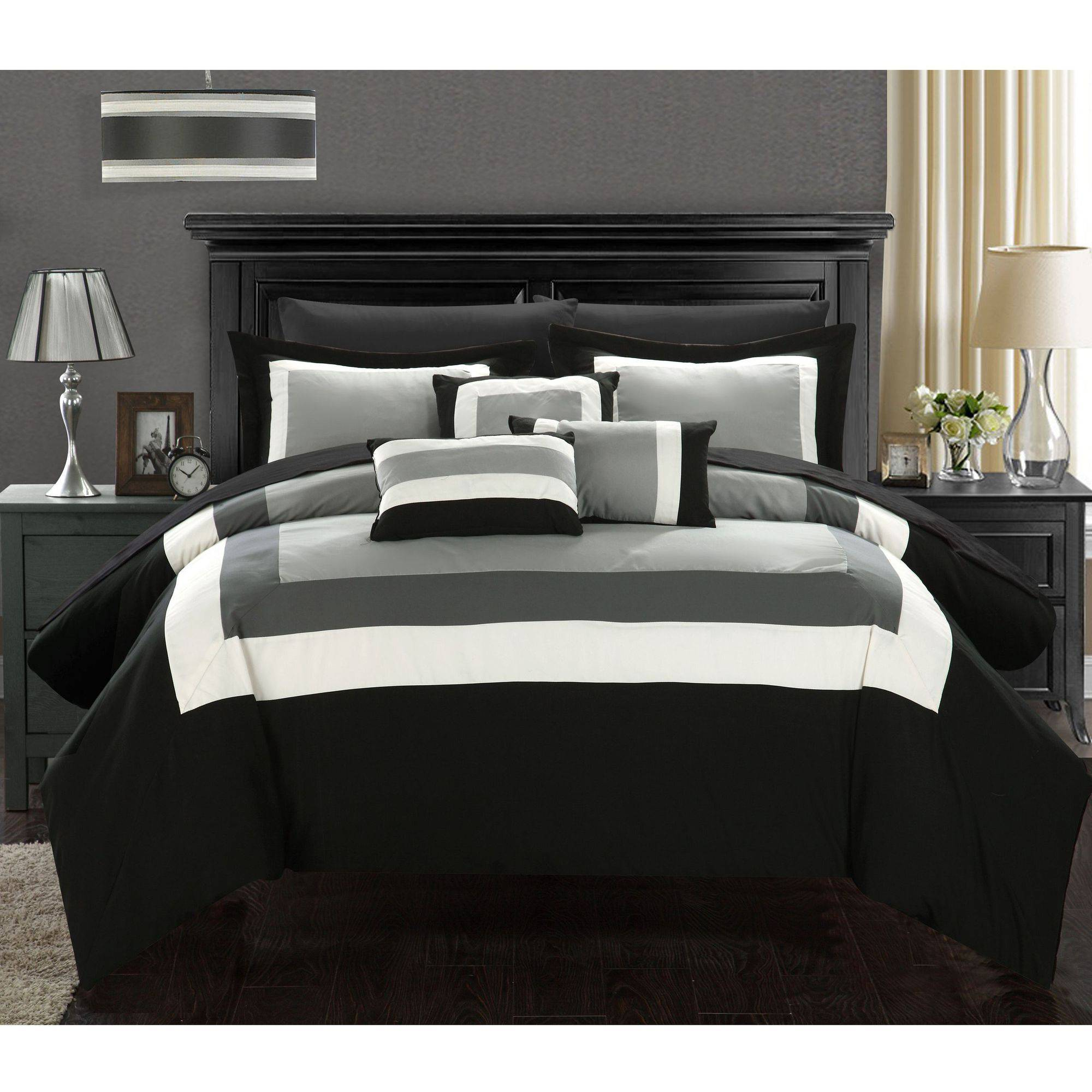 Chic Home Darren 10-Piece Comforter Set