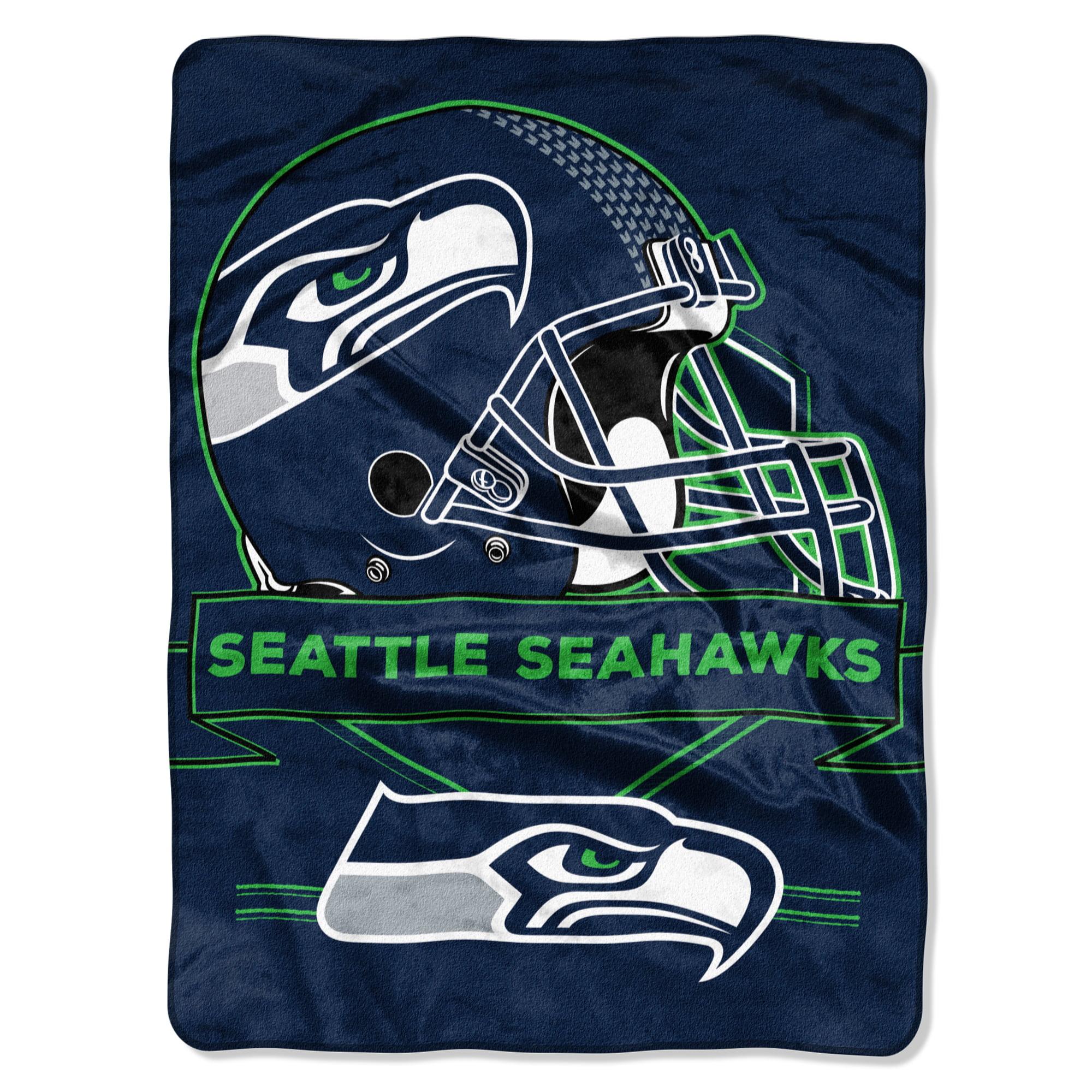 "Seattle Seahawks The Northwest Company 60"" x 80"" Prestige Raschel Blanket - No Size"