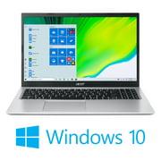 "Acer Aspire 1 A115-32-C28P, 15.6"" Full HD Display, Intel Celeron N4500, 4GB DDR4, 128GB eMMC, 802.11ac WiFi 5, Microsoft 365 Personal, Windows 10 Home (S mode), Pure Silver"
