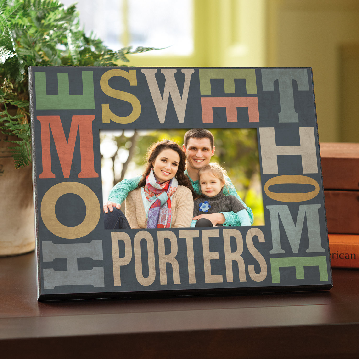 Personalized Home Sweet Home Frame