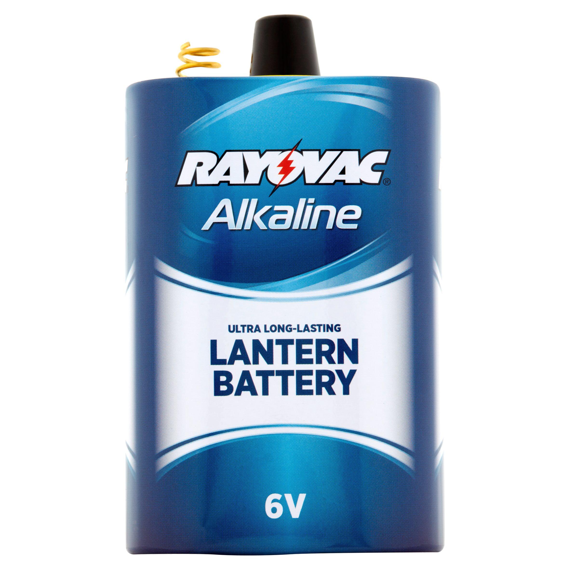 Rayovac 6V Alkaline Lantern Battery