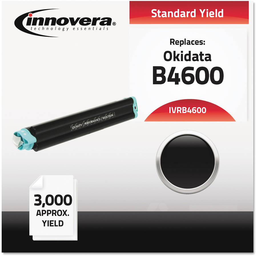 Innovera Compatible with 43502301 (B4600) Black Toner Cartridge