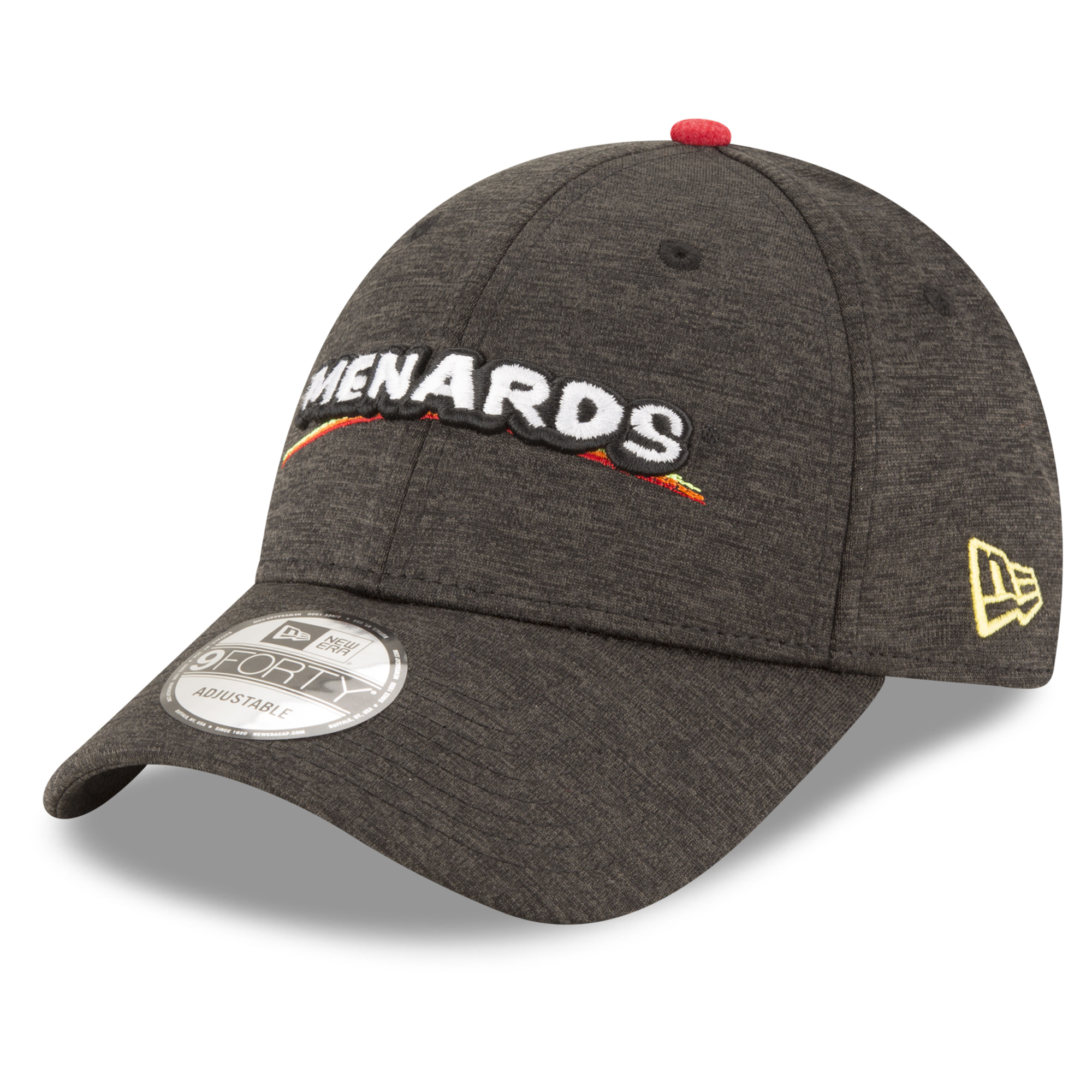 Ryan Blaney New Era Menards Driver 9FORTY Adjustable Hat - Black - OSFA