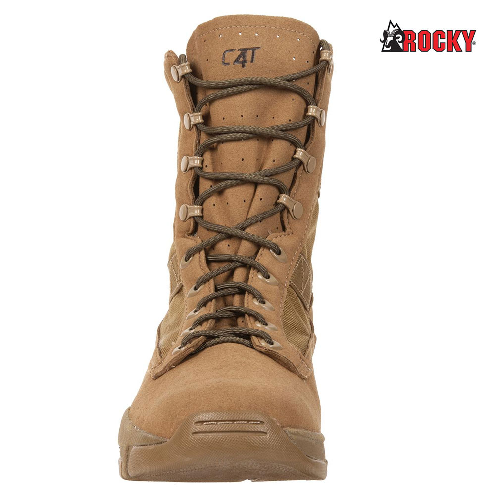 Rocky C4T Trainer Military Duty Boot (14-W)- Coyote by