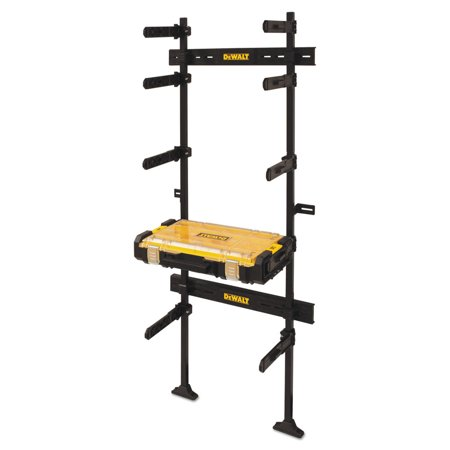 Dewalt DWST08270 ToughSystem Workshop Racking System with ToughSystem Organizer (Black)