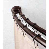 "Better Homes & Gardens 50"" x 72"" Adjustable Dual-Installation Double-Curved Rod, 1 Each"