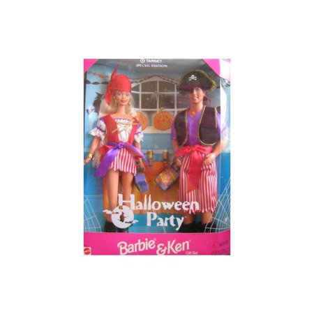 Target Special Edition Halloween Party Barbie and Ken (Halloween Barbie And Ken)