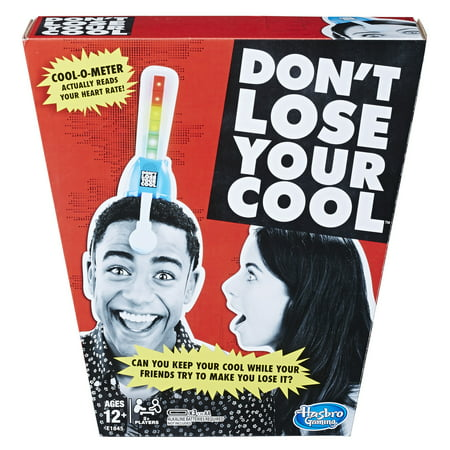 Family Party Games (Don't Lose Your Cool Game Electronic Adult Party Game Ages 12 and Up, Hasbro)