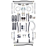 """NEW CURRIE JOHNNYJOINT 4"""" SUSPENSION SYSTEM,ALUM FRONT & REAR SWAY BARS,FRONT & REAR TRAC BARS,FOR 07-18 JEEP JK 2D, CE-9808JCE"""