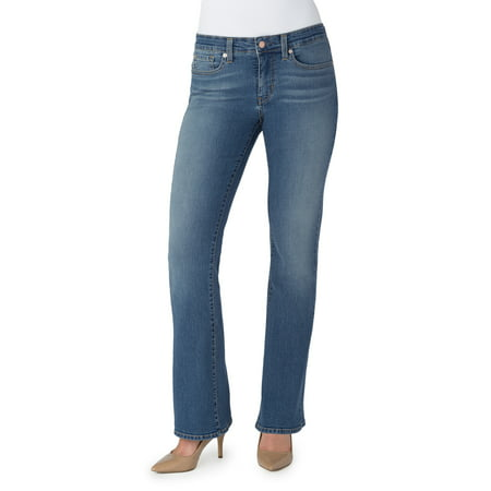 Low Rise Bootcut Womens Jeans - Signature by Levi Strauss & Co. Women's Totally Shaping Bootcut Jeans