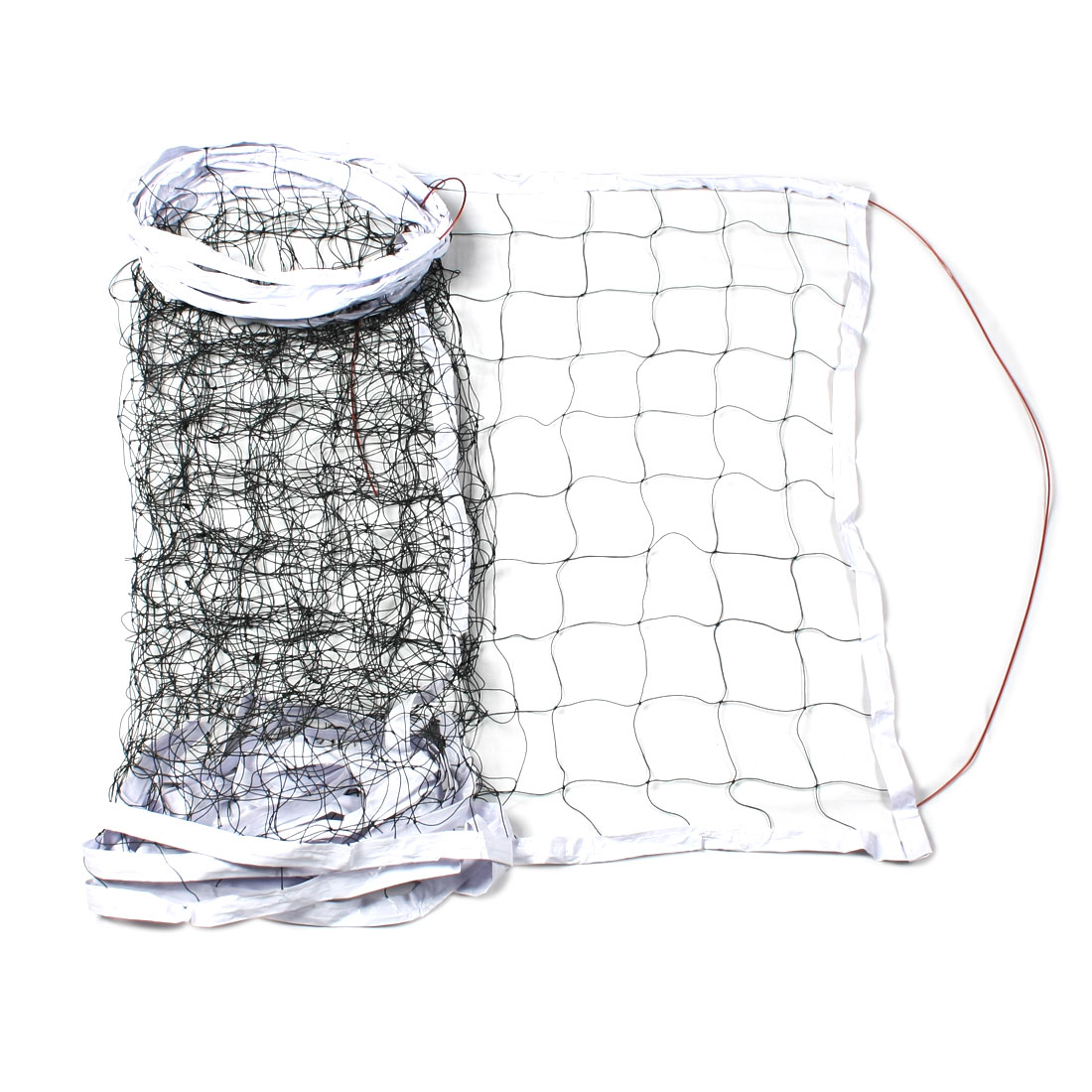 Unique Bargains Unique Bargains Athletic 30.8Ft x 2.5Ft Volleyball Match Nylon Net Netting