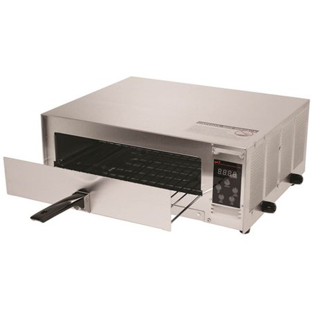 Wisco Industries. Pizza Pal Plus Digital Snack Oven Stainless Steel, Pizza Oven