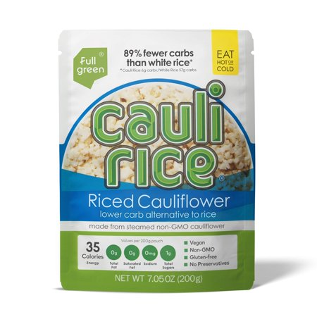 Cauli Rice - Fullgreen - Low Carb Riced Cauliflower (Cauliflower, 1