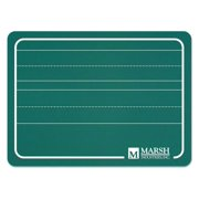 Chalkboard Lapboard in Green Finish w Manuscript Lines - Set of 24