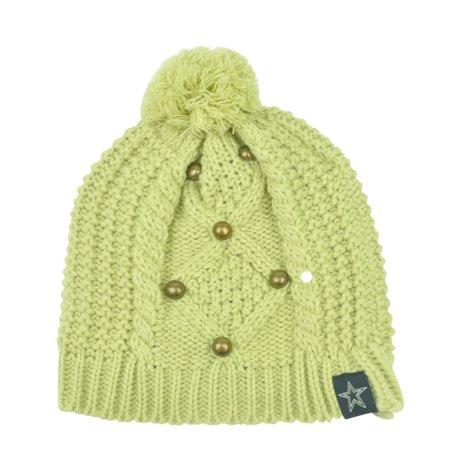 NFL Dallas Cowboys Pom Pom Sophisticate Crochet Womens Knit Beanie Toque Hat