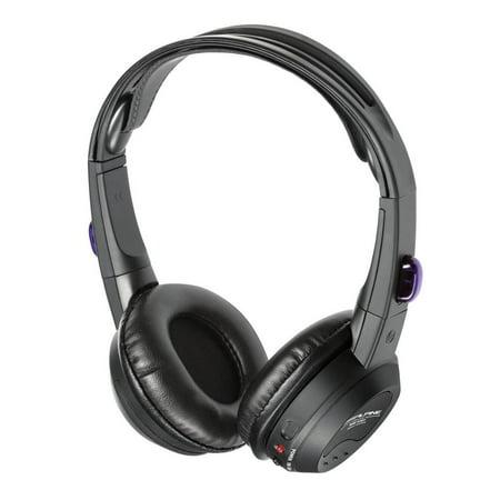 Alpine SHS-N107 Single Source Wireless Automotive Infrared Stereo Headphones