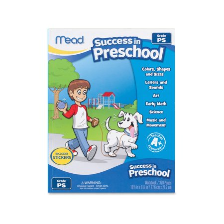 Branded Mead Success In Preschool Learning Workbook Pack of 1 [Qty Discount / wholesale price] - Discount School