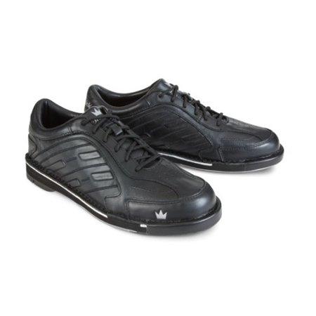Left Hand Bowling Shoes (Team Brunswick Black Men's LEFT HAND Bowling Shoes, Size 8)