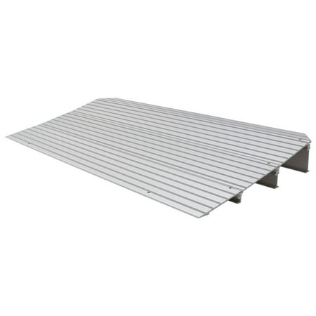 silver spring 3 14 high aluminum mobility threshold ramp for wheelchairs