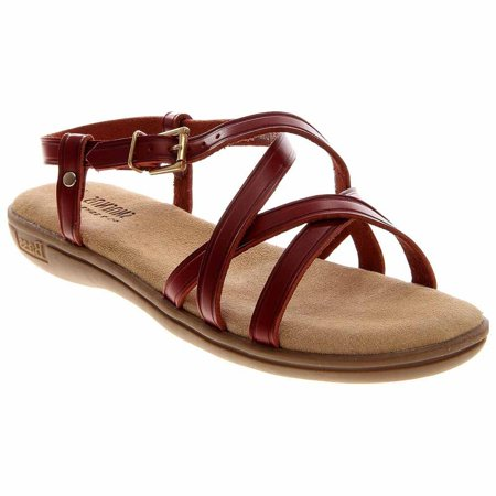 Bass Womens Margie  Casual Sandals Shoes - Leather Adult Casual Shoes