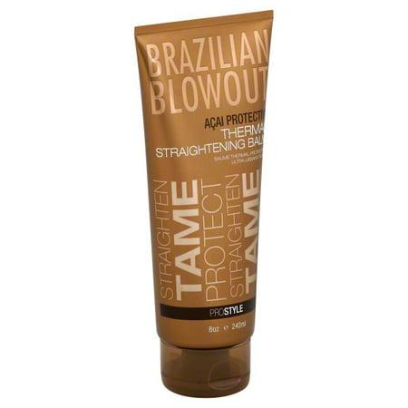 Brazilian Blowout ProStyle Acai Protective Thermal Straightening Balm, 8