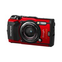 Olympus TG-5 Waterproof Camera with 3-Inch LCD, Red Refurbished