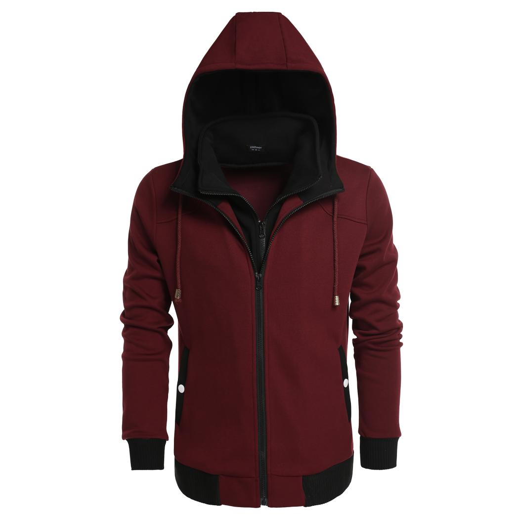 Cdicount  Casual  hoodies for men Boys Wine Red, Gray, Da...