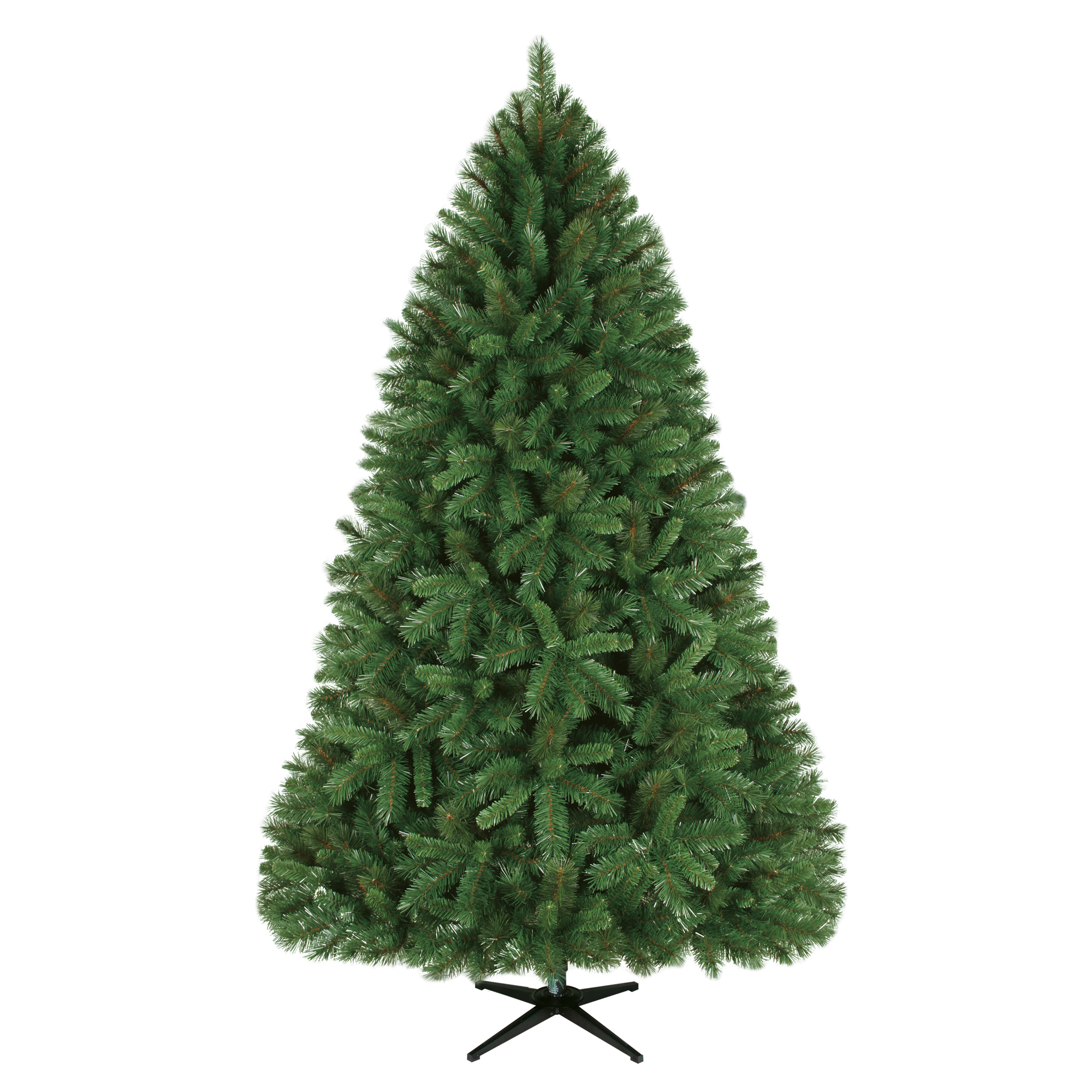 Holiday Time 7.5ft Unlit Donner Fir Artificial Christmas Tree - Green