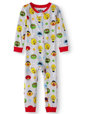 c0ce18393c1d Product Image Baby and Toddler Boys  Cotton Footless Pajama Sleeper. Sesame  Street