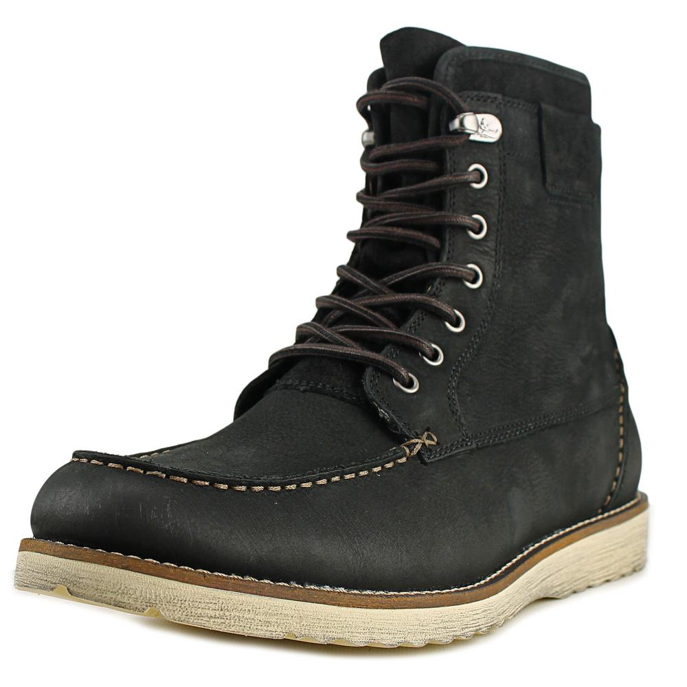 Bass Shane   Round Toe Leather  Boot